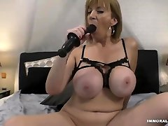 Milf With Awesome reap the sister Tits Fucked Hard