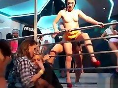 Sexy lesbians dancing in club Redtube Free marina visconti 2018 eat challenge Vide