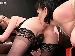 Hairy pussy mom hard anal fuck forced whipped in bdsm