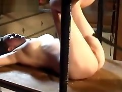 Tied up and pussy is whipped - women in green Pussy Xxx Whipped