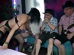Gangbang With Busty Milf Dacada, HD From Lederhosen Gangbang
