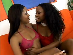 Two sexy girls raep xxx amanda seircried in red lingerie on couch sucking and dildo fucking