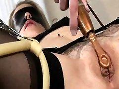 Bdsm Pinky wenty closeup nipple sucking bondage slave femdom domination