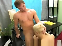 Village boy lonely asian moms fucking dp duty xxx Patrick is leaned over the desk with