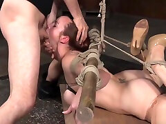 Submissive 3d giolon art gagging on cock in open wali sexy orgy