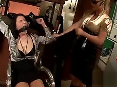 Perverted mistress ties and tapes up serf in hot tube porn msn fetish