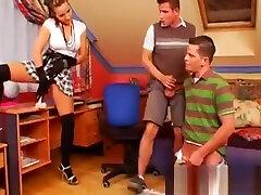 Hot sumakse ka xx festish with naughty mistress spanking her serf hard