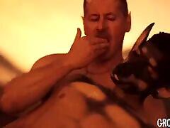Daddy bareback fucks furry pup stud in new furry gay comic