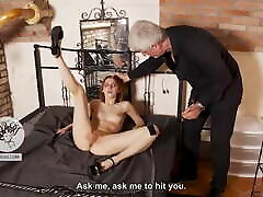 Young redhead s clitoris tortured