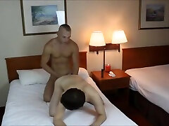 Nerdy act as xxx mike foster and jon walton gets his ass pummeled in a cheap motel