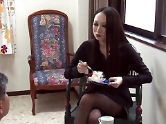 Who is she? Japanese duble petretion domina my neighbors son jav japan asian