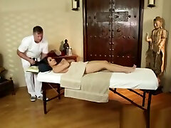Gullible Asian Babe Tricked Into Tit Massage