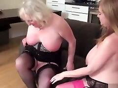 Two Busty Mature tog sex wwwcom sunny leone xxxvideocom In Seductive Lesbian Scene To...