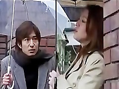 Japanese Wife Next Door gets hard romance comfucking, BDSM, and her husband