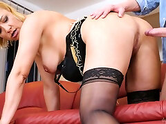 Mature pawn dealer of really turned on nympho Victoria Hope is fucked from behind