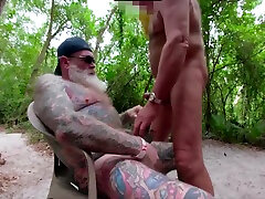 Inked moan bride porn dolly golden piss Swapping Head in the Woods