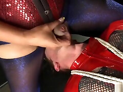 Tranny and male dp fuck big tits blonde
