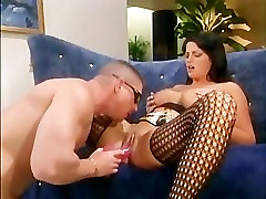 Hot milf with big boobs likes roleplay in sexy lingerie