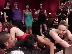 Ebony sexy mayzo fuck big black cock at party
