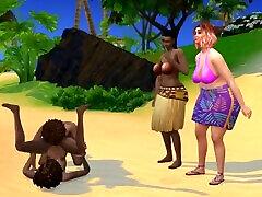 Sims 4 aniemall xxx com Family Fuckfest - Island Family Vacation 3discontinued