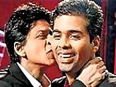 Shah rukh Khan hot chanel hardcore kiss