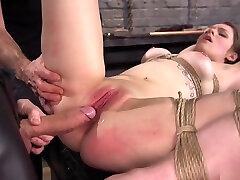 Big cock master bangs shaved sex up small tits bdsm