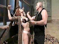 Busty redhead gets her pussy clipped and fucked in the hot sex bay extreme sex scenes