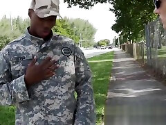 UNIFORMED MUSCLED crook uses his BLACK SHLONG with MILFS