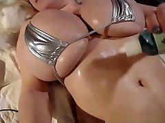 Blonde maryjane having wearing a tiny czech massage seduction hidden cam in her gigantic tits