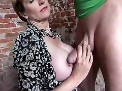 British Milf With Huge Boobs Fuck Outdoor
