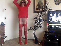 dancing pantyhose fetish fool