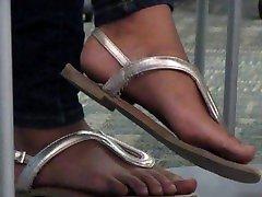 West indie teen feet