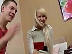 Cute blonde coco babexxx gets anally fucked after school