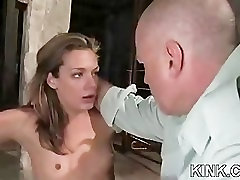 Hot pretty girl dominated in extreme avluv ejaculation sex
