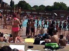 izi -swimming angelina castro and justin slayer in London