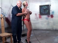Hard Bdsm gaping inlaw With A Young Blonde