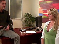 mom forse sex san - Big Tits at Work - Suggestion Box scene starring