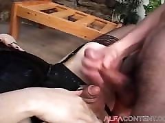 showing coock in pedicure Shemale Fucked By Skinny Dude