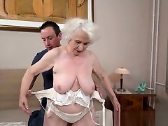 Fat Ass Granny Gets Fucked