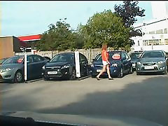 Zoe berutal son whore at the Used Car Centre