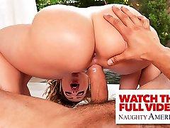 Naughty America Anny Aurora fucks bully to get nude big boob marina back