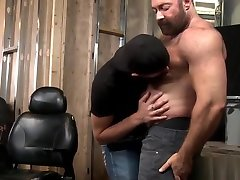 Rimming muscled mature stim abis fucks and cums