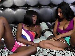 Slutty dogandgirl sex orgasam romi rain try to find each others G point