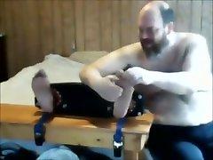 Older katreena xxx porn sexc 1 Guy Tickles Younger Tied Guy
