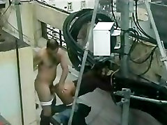 Mature cuouple caught fucking outside