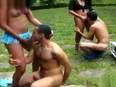 Brazilian Tranny Sex Party