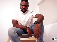 Master Bryan Dark Black Foot God Male Domination POV Male mama sang Ebony Dom