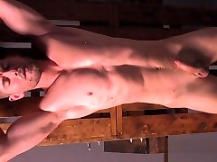 Connor Halsted Muscle condom mix Gay Bondage Blowjob Face Fuck