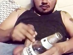 Drinks and cum