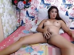 asian ladyboy Love sucking Dildos And Masturbation